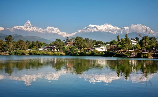 Hot Air Balloon in Pokhara